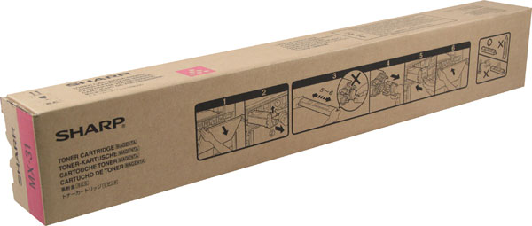 15000 Sharp MX-31NTMA Mx-2600n//3100n//4100n//4101n//5000n//5001n Magenta Toner